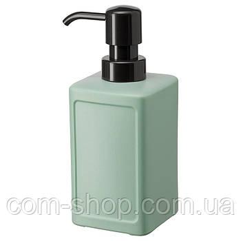 Дозатор для жидкого мыла IKEA, 450 мл, зеленый