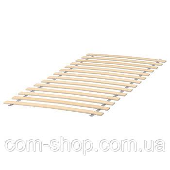 Реечное дно кровати IKEA, 70x160 см