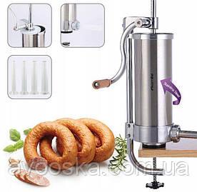 Шприц для начинения колбас на 3 кг Kamille KM-6509