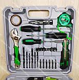 Аккумуляторный шуруповерт Белорус мтз 12-2ЛН в кейсе с набором инструментов, фото 2