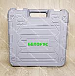 Аккумуляторный шуруповерт Белорус мтз 12-2ЛН в кейсе с набором инструментов, фото 4