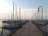 Яхт клуб, база отдыха, мини порт.