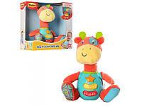 Мягкая игрушка Жираф музыкальный WinFun 0688-NL