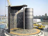 Резервуары - подготовительные работы по монтажу