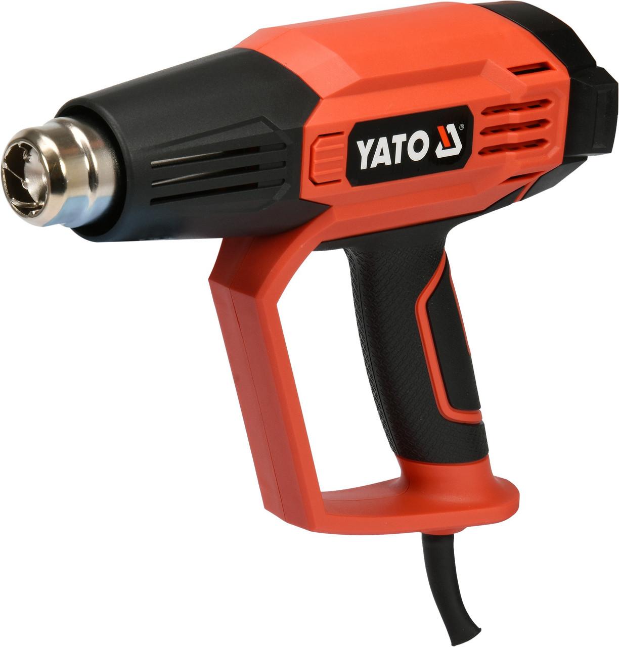 Фен строительный 1600 Вт с LCD дисплеем YATO YT-82296