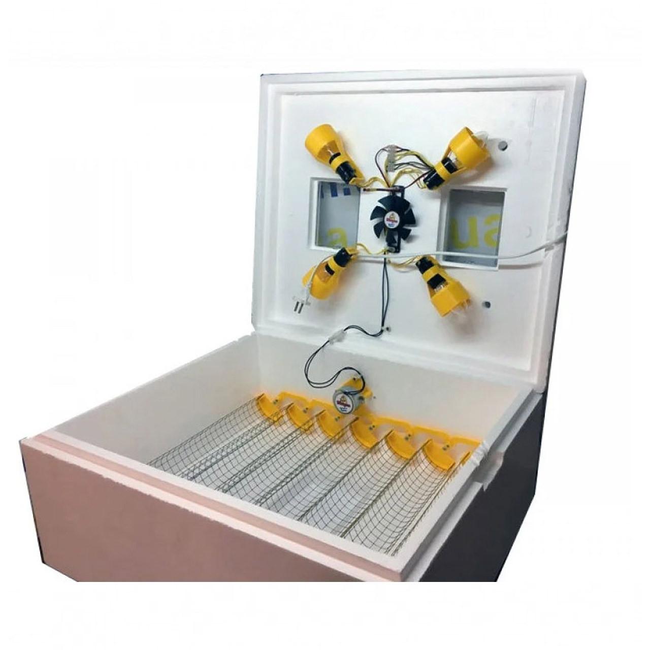 Інкубатор для будинку на 63 яєць (автоматичний переворот)