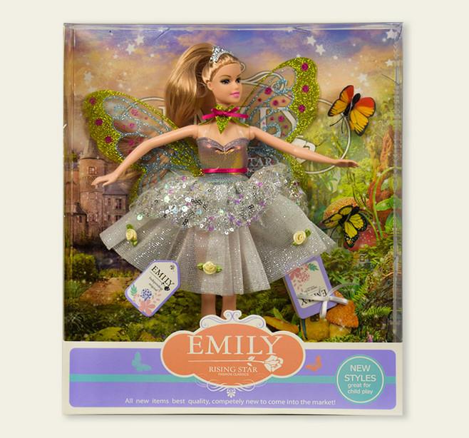Кукла типа Барби 080  Фея Emily с аксессуарами. pro