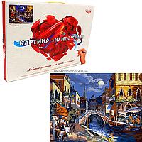 Картина по номерам Danko toys Ночная Венеция, 40х50 см (KPN-01-02), фото 1