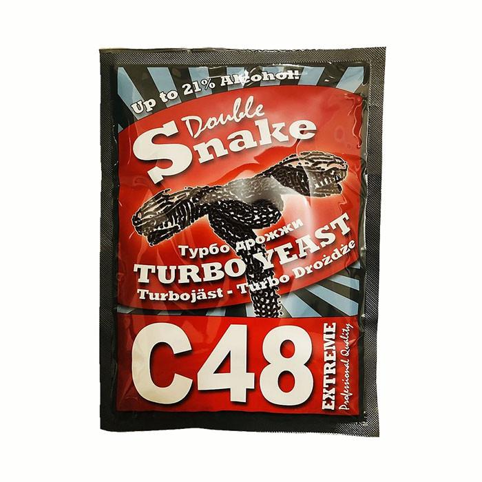 Турбо дріжджі Double Snake C48 Turbo