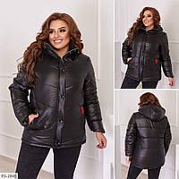 Жіноча демісезонна курточка з плащовки, фото 1