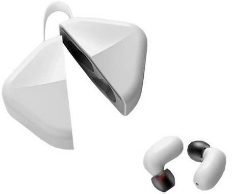 Whizzer B6 White TWS Беспроводные Наушники с Микрофоном, фото 2