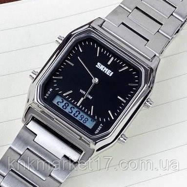 Skmei 1220 Silver-Black
