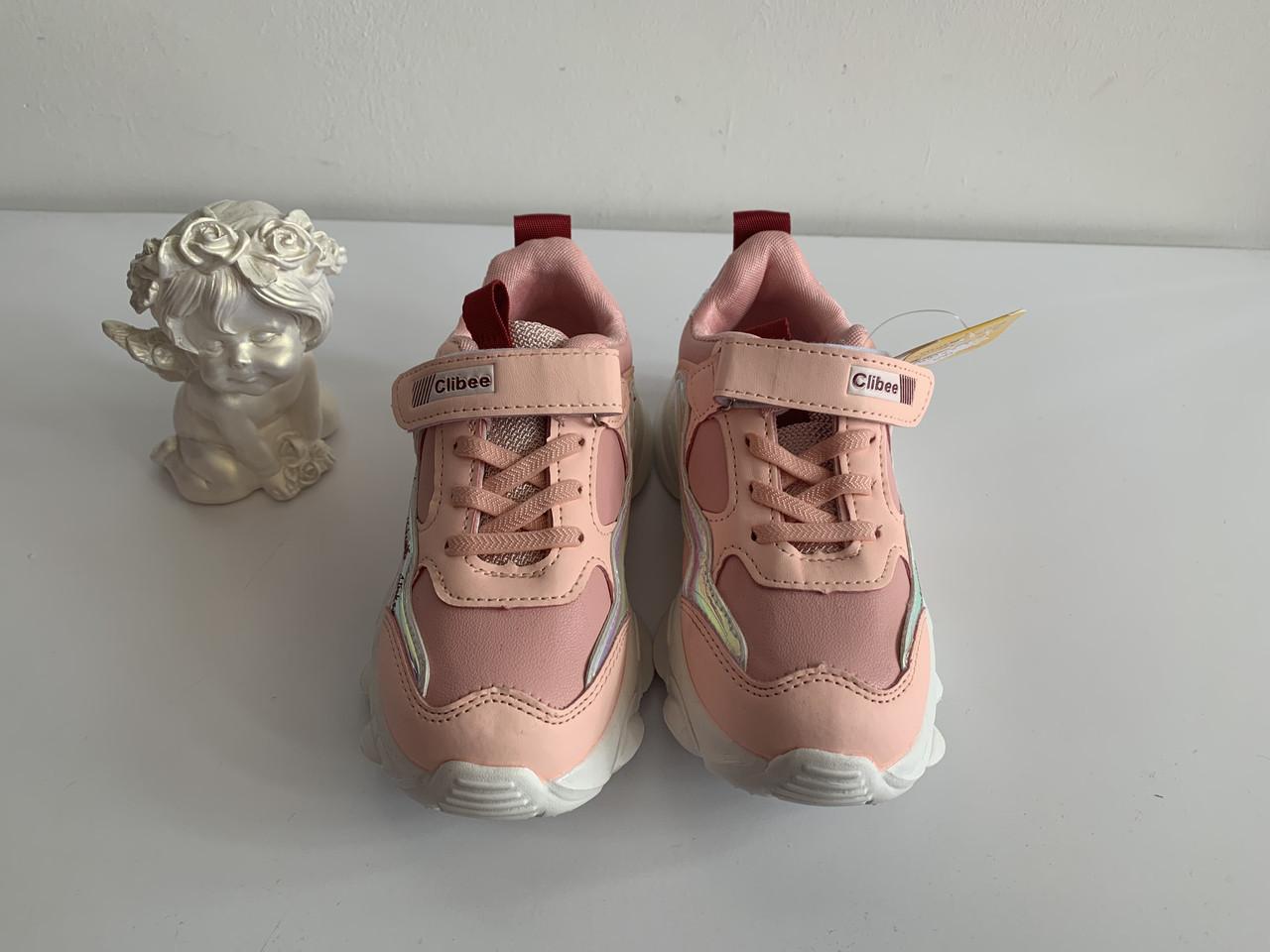 Дитячі кросівки для дівчинки Clibee Румунія розміри 31-36