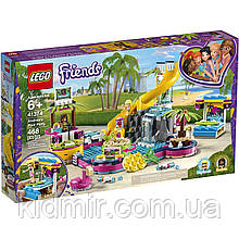 Конструктор LEGO Friends 41374 Вечірка Андреа біля басейну