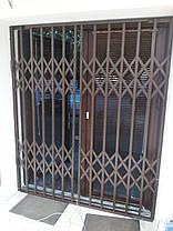 Раздвижные решетки коричневые, фото 3