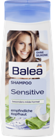 Шампунь Нежное прикосновение с экстрактом алоэ Вalea Sensitive Shampoo Aloe Vera 300 мл