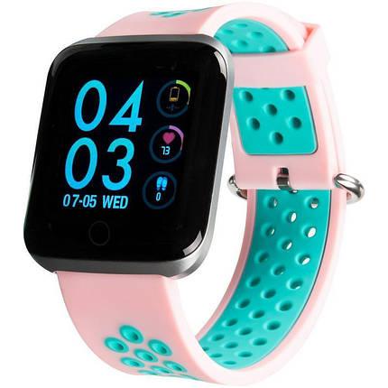 Smart Watch Gelius Pro GP-SW001 (NEO) Pink/Blue, фото 2