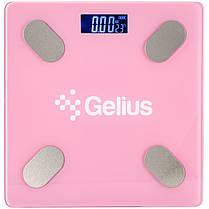 Умные напольные весы Gelius Floor Scales Zero Fat GP-BS001 Pink, фото 3