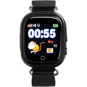 Дитячі розумні годинник з GPS трекером Gelius Pro GP-PK003 Black