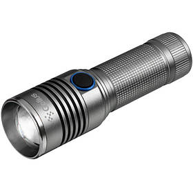 Ліхтарик Gelius Flashlight Super Bright FL-001 Grey
