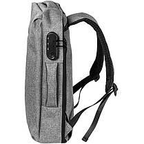 Рюкзак трансформер Gelius Backpack Monetary Attract GP-BP002 Grey, фото 3
