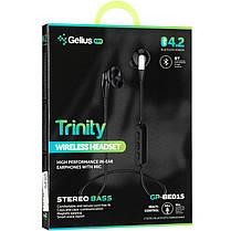 Stereo Bluetooth Headset Gelius Pro Trinity GP-BE-015 White, фото 3