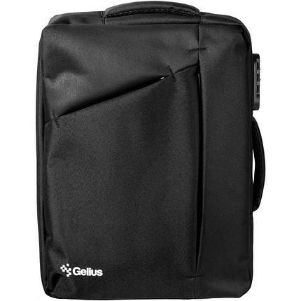 Рюкзак трансформер Gelius Backpack Monetary Attract GP-BP002 Black, фото 2