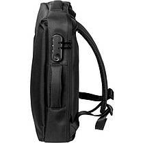 Рюкзак трансформер Gelius Backpack Monetary Attract GP-BP002 Black, фото 3