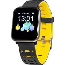 Smart Watch Gelius Pro GP-CP11 Plus (AMAZWATCH 2020) (IP68) Black/Yellow, фото 2