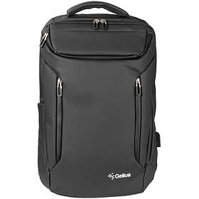 "Водонепроникний рюкзак для ноутбука 17"" Gelius Waterproof Protector GP-BP005 Black"
