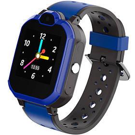 Дитячі смарт годинник Gelius Pro GP-PK002 Blue 4G з GPS трекером