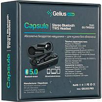 Stereo Bluetooth Headset Gelius Ultra Capsule GU-TWS-003 Black, фото 2