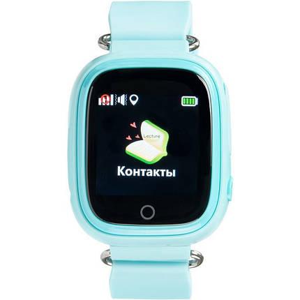 Детские умные часы с GPS трекером Gelius Pro GP-PK003 Blue, фото 2