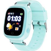Детские умные часы с GPS трекером Gelius Pro GP-PK003 Blue, фото 3