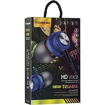 Stereo Bluetooth Headset Gelius Ultra Triada GL-HB-009U Blue, фото 3