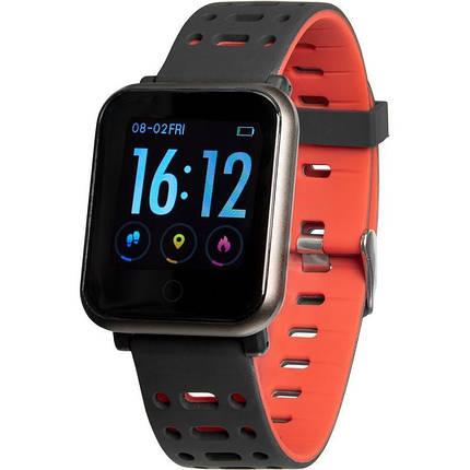 Смарт годинник Gelius Pro GP-CP11 (AMAZWATCH) Black/Red, фото 2