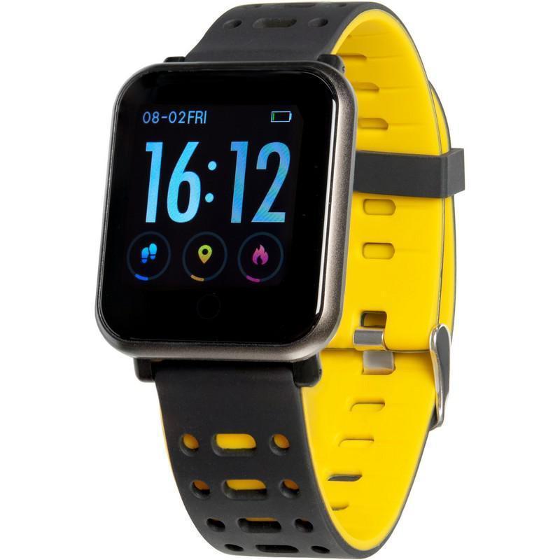 Смарт часы Gelius Pro GP-CP11 (AMAZWATCH) Black/Yellow
