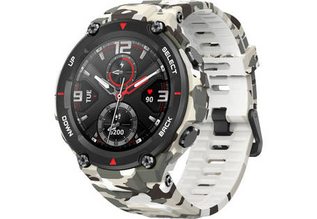 Смарт часы Amazfit T-Rex Camo Green Оригинал, фото 2