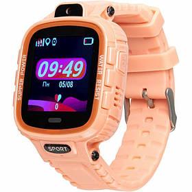 Дитячі смарт годинник Gelius Pro GP-PK001 (PRO KID) Pink з GPS трекером