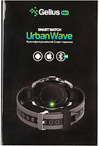Смарт часы Gelius Pro GP-L3 (URBAN WAVE) Black/Red, фото 2