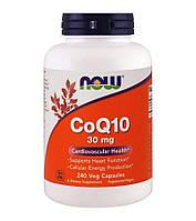 Коэнзим Q10 (CoQ10), 30 мг, 240 капсул