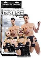 Набор бондажа Fetish Fantasy Extreme Silicone Bondage Kit черный