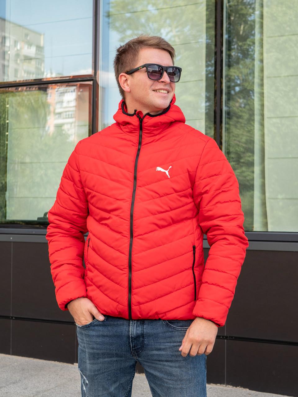 Демисезонная мужская куртка  от производителя    46-54  красный
