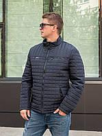 Куртки демисезонные мужские от производителя 48-56 синий