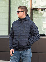 Демисезонная мужская куртка от производителя 48-56 синий