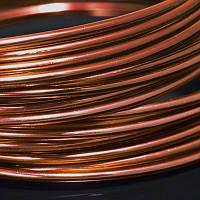 Алюминиевая Проволока 1.5мм/6м, Цвет: Медь, Толщина 1.5мм, около 6м/моток, (УТ000006901)