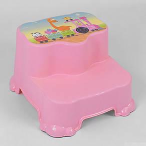 Детская подставка-стульчик на две ступени BIMBO, фото 2