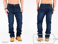 Мужские джинсы на флисе