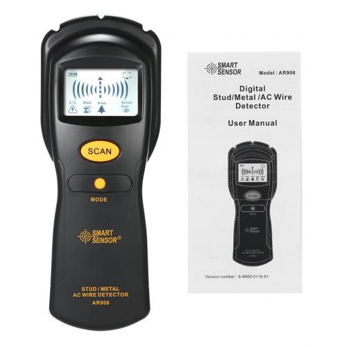Искатель скрытой проводки и металла Smart Sensor AR906