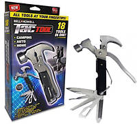 Мультитул набор Tac Tool 18 in 1 компактный инструмент с Чехлом EL-1217